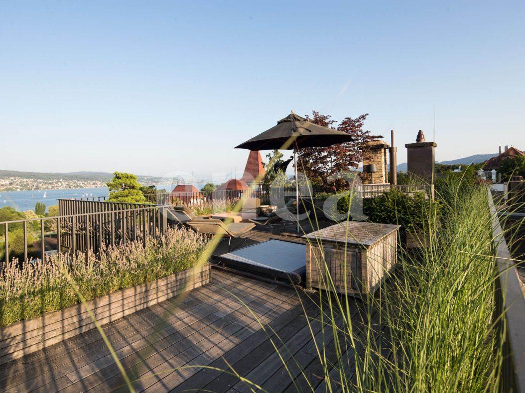 Enea landscape architecture Garten und Dachterrasse