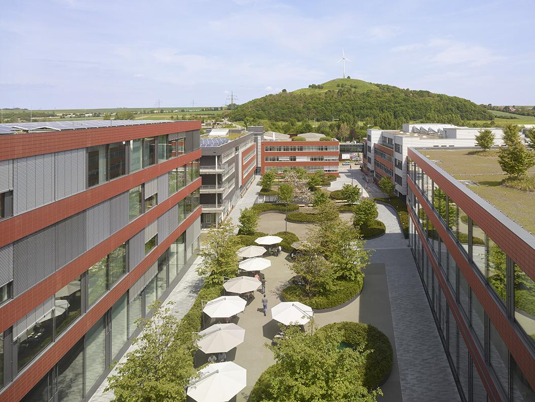 Enea landscape architecture   Vector Informatik, Stuttgart ...